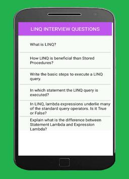 LINQ Interview Questions poster