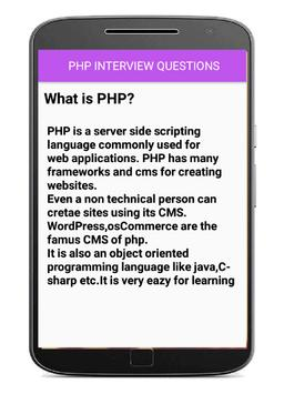 php interview questions screenshot 3