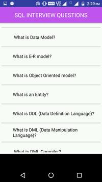 SQL Interview Questions and answers screenshot 2