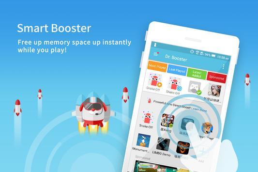 加速達人Dr. Booster-遊戲加速器優化記憶體不Lag 海報