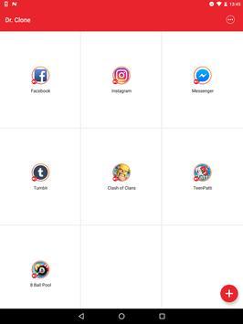 Dr.Clone: Parallel Accounts, Dual App, 2nd Account apk screenshot