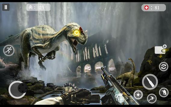 ألعاب الديناصور مطاردة 2018 - لعبة اطلاق النار دين تصوير الشاشة 16