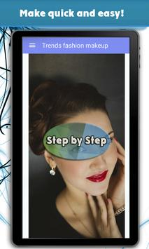 Trends fashion makeup poster