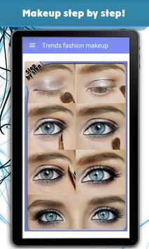 Trends fashion makeup screenshot 1