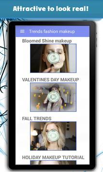 Trends fashion makeup apk screenshot