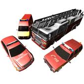 Duty Driver Firetruck FREE icon