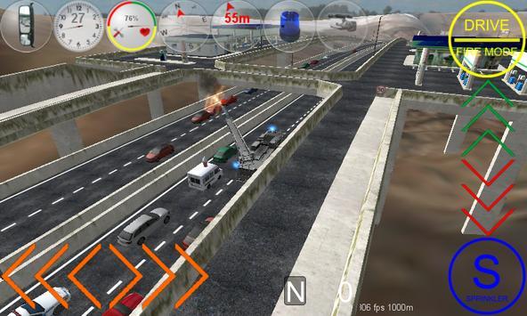 Duty Driver Firetruck FREE apk screenshot