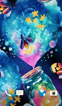 Aquarelle Wallpaper screenshot 2