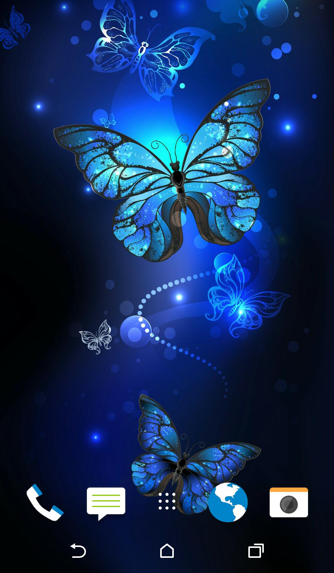 Glitter Butterfly Wallpaper for Android - APK Download