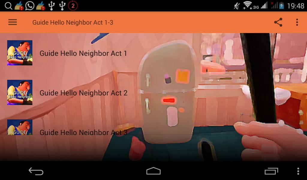 Guide Hello Neighbor Alpha Act 1-3 for Android - APK Download