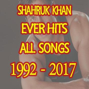 SRK hindi movies Songs poster