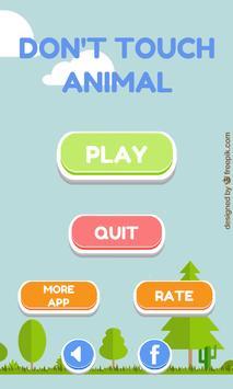 Don't touch animal apk screenshot