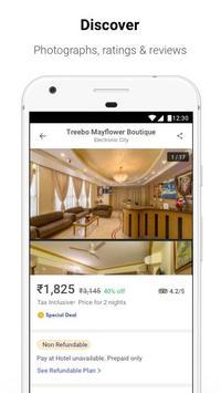 Treebo - Online Hotel Booking App, Get Hotel Deals apk screenshot