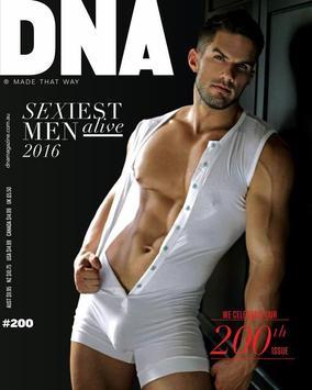 DNA Magazine poster