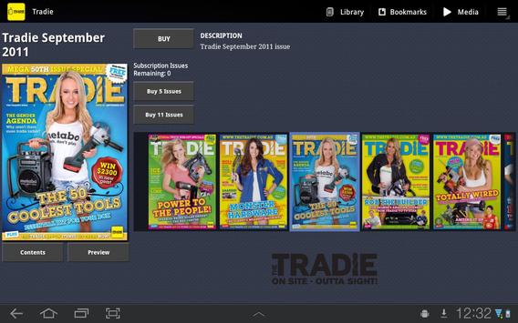 The Tradie Magazine poster