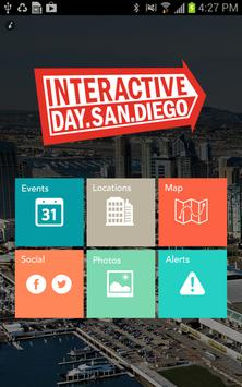 San Diego Interactive Day poster