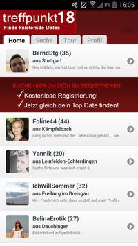 Treffpunkt18 Dating apk screenshot
