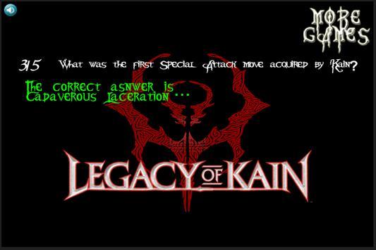 Legacy Of Kain Quiz ENGLISH screenshot 2