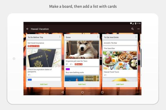 Trello apk screenshot