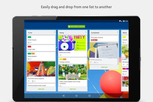 Trello apk screenshot