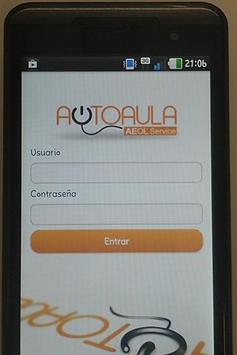 Autoaula AEOLservice screenshot 1