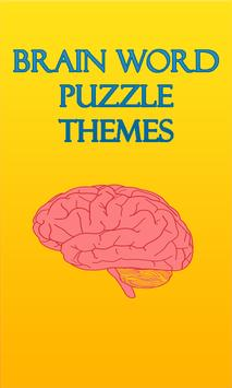 Brain Word Puzzle Themes poster