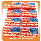 Delicious 4th July Desserts icon