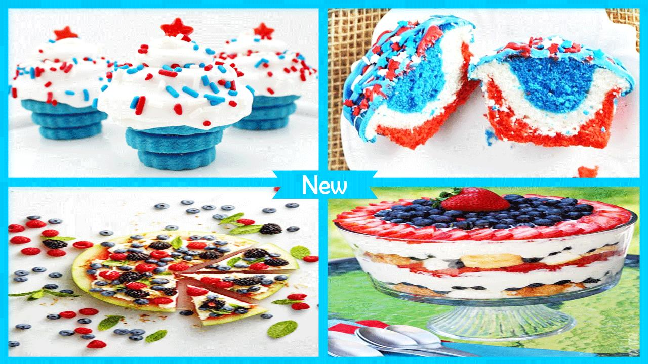 Delicious 4th July Desserts poster