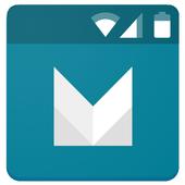 Material Status Bar icon