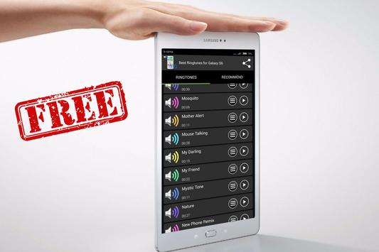 Best Ringtones for Galaxy S6 apk screenshot