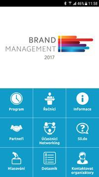 Brand Management 2017 poster