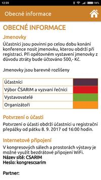 ČSARIM 2017 apk screenshot