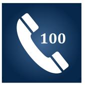 Call 100 App Bangalore Police icon