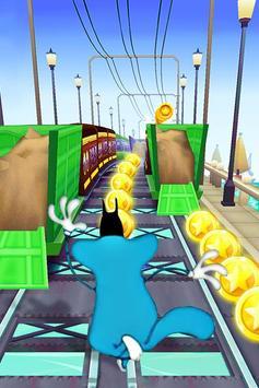 Adventure Oggy Subway Run poster