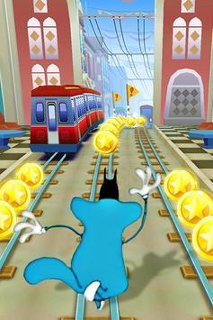 Adventure Oggy Subway Run screenshot 3
