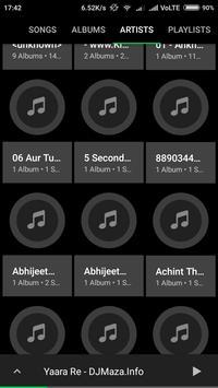 Dark Music Player ♫ apk screenshot