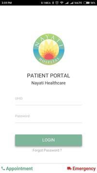 Nayati Patient Portal poster