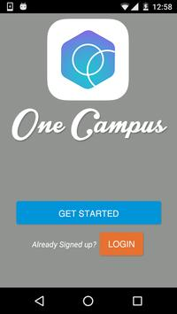 One Campus poster