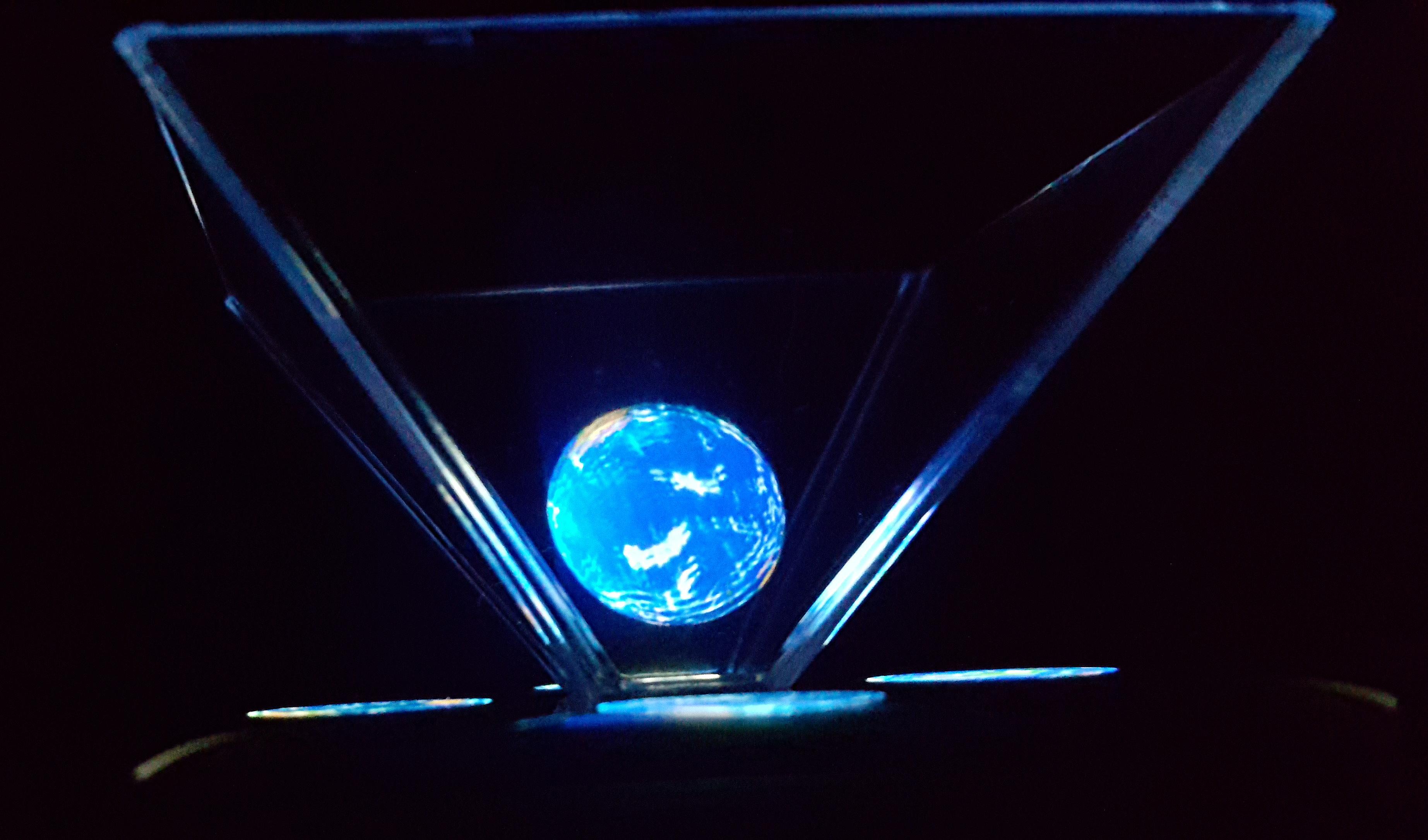 Hologram 3D Showcase poster
