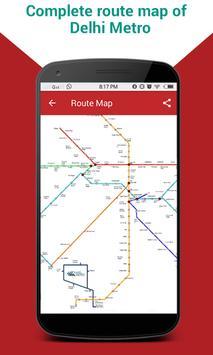 Delhi Metro Route Map & Fare, Dtc Bus Number Guide screenshot 6