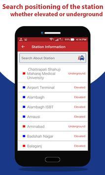 Lucknow Metro Route Map & Fare screenshot 2