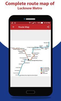 Lucknow Metro Route Map & Fare screenshot 3