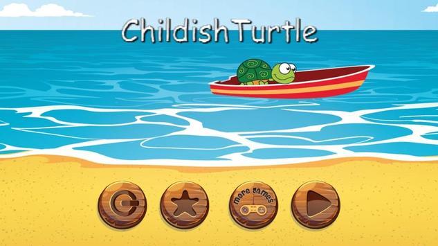 Childish Turtle poster