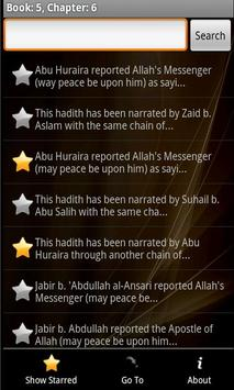 Sahih Muslim Free apk screenshot