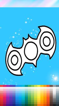 Coloring Book For Fidget Spinner screenshot 1