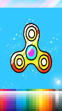 Coloring Book For Fidget Spinner screenshot 2