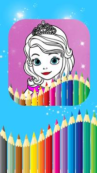 Princess Coloring Book For Sofia screenshot 4