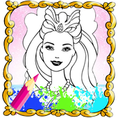 The Queen Coloring Book HD icon