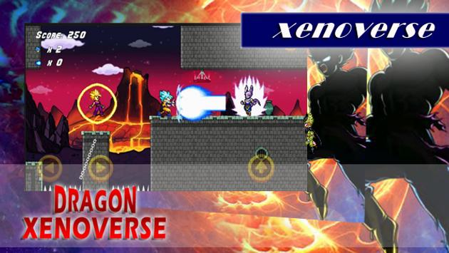 Batle of xenoverse - Goku Super Ultimate Run poster