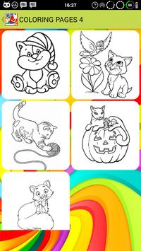 Coloring Cute Cat : Basic apk screenshot